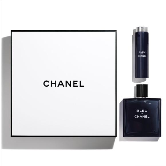 d100022300f Bleu de Chanel men s fragrance cologne gift set